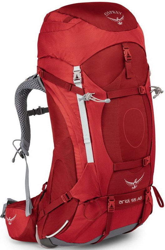 Osprey ARIEL AG 55 picante red WM