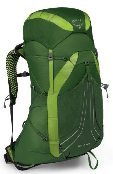 Osprey EXOS 48 II tunnel green MD