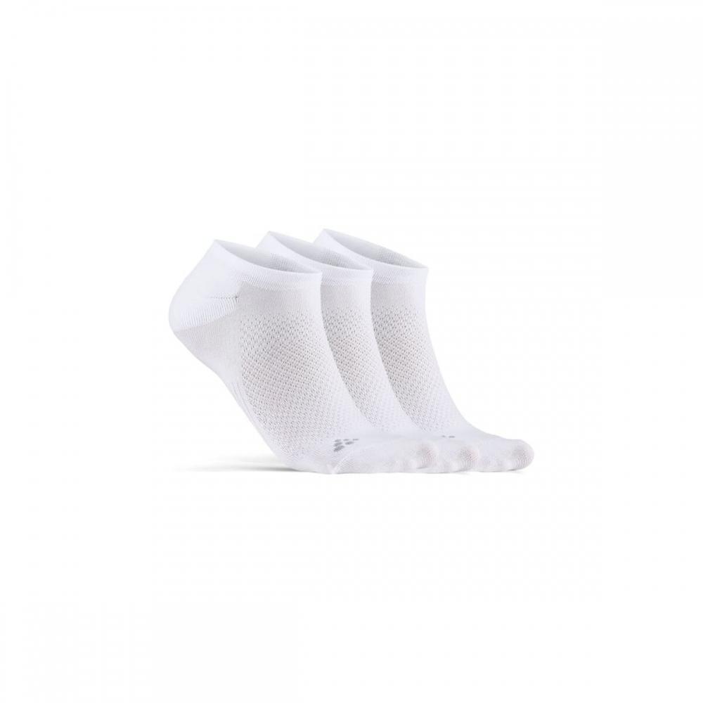 Ponožky CRAFT CORE Dry Footies bílá