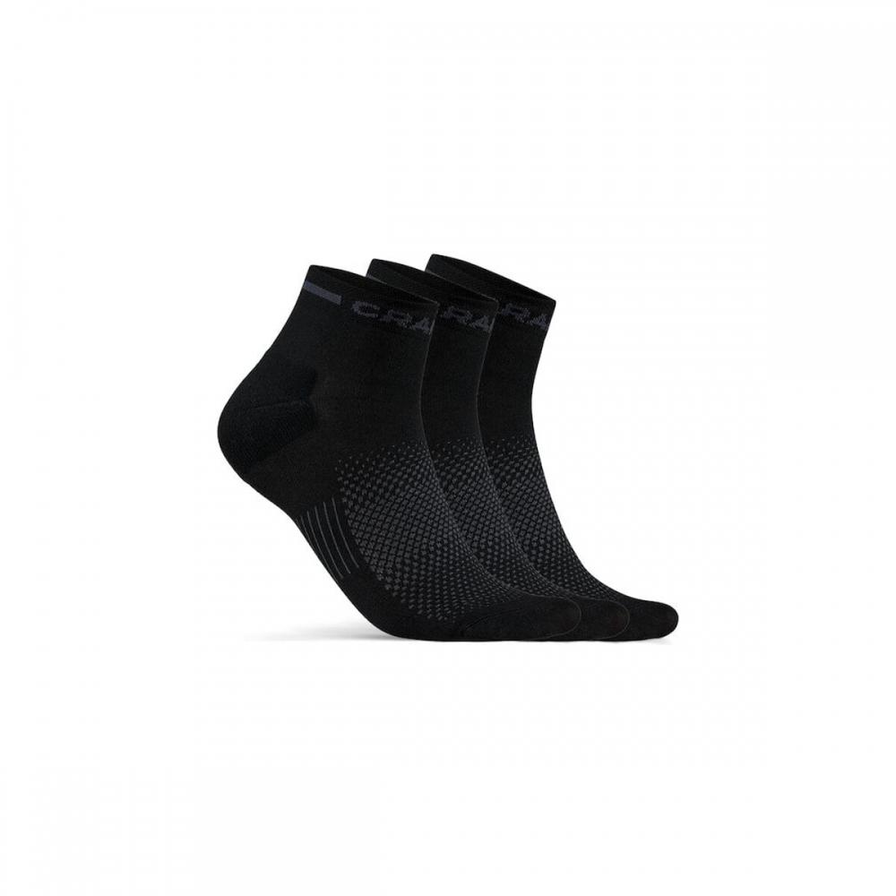 Ponožky CRAFT CORE Dry Mid 3p černá