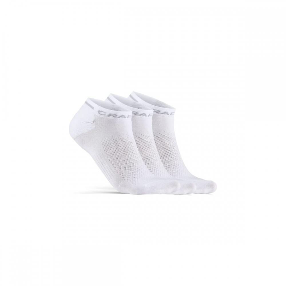 Ponožky CRAFT CORE Dry Shaftle bílá
