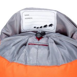 Mammut First Trion 12 Safety Orange-Black Image 4