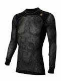 Aclima WoolNet Crew Neck shirt Man Jet Black Image 1