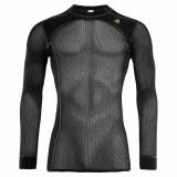 Aclima WoolNet Crew Neck shirt Man Jet Black Image 0
