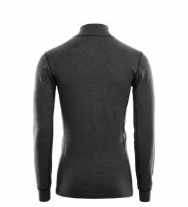Aclima WarmWool Mock Neck Shirt W/Zip Man marengo Image 1