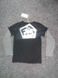 E9 BISSA tričko pánské dlouhý rukáv| barva BLACK/IRON vel. XL Image 1