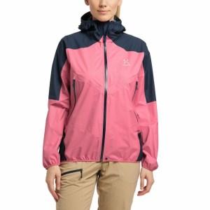 Haglöfs L.I.M Comp Jacket Women Tulip Pink/Tarn Blue Image 2