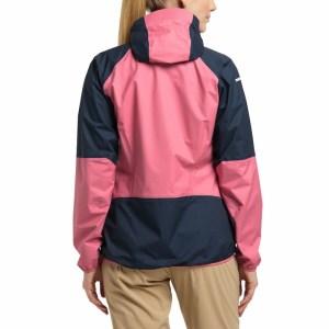 Haglöfs L.I.M Comp Jacket Women Tulip Pink/Tarn Blue Image 3