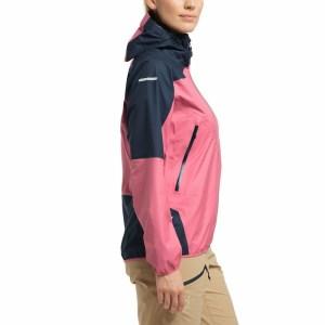 Haglöfs L.I.M Comp Jacket Women Tulip Pink/Tarn Blue Image 4