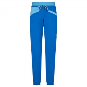La Sportiva Mantra Pant Women Neptune/Pacific blue Image 0