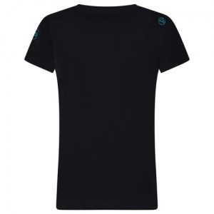 La Sportiva Windy T-Shirt Women Black Image 1