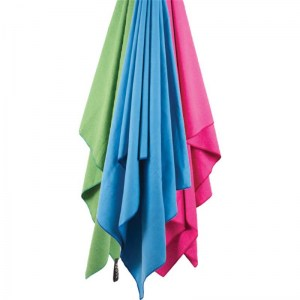 Lifeventure SoftFibre Trek Towel Pink Image 1