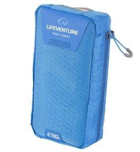 Lifeventure SoftFibre Trek Towel Blue Image 0