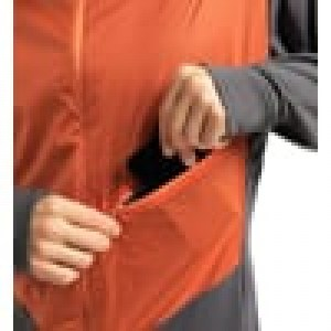 Haglöfs L.I.M Hybrid Hood Men Magnetite/Flame Orange Image 2