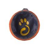 Mountain Paws Dog Water Bowl 170 mm| Oranžová Image 1