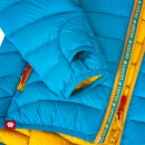Ocun Tsunami Down Jacket Women blue yellow Image 2