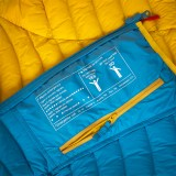 Ocun Tsunami Down Jacket Women blue yellow Image 3