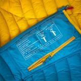 Ocun Tsunami Down Jacket Women blue yellow Image 3