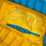 Ocun Tsunami Down Jacket Women  yellow blue Image 3