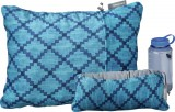 Thermarest Compressible Pillow Blue Heather Image 1