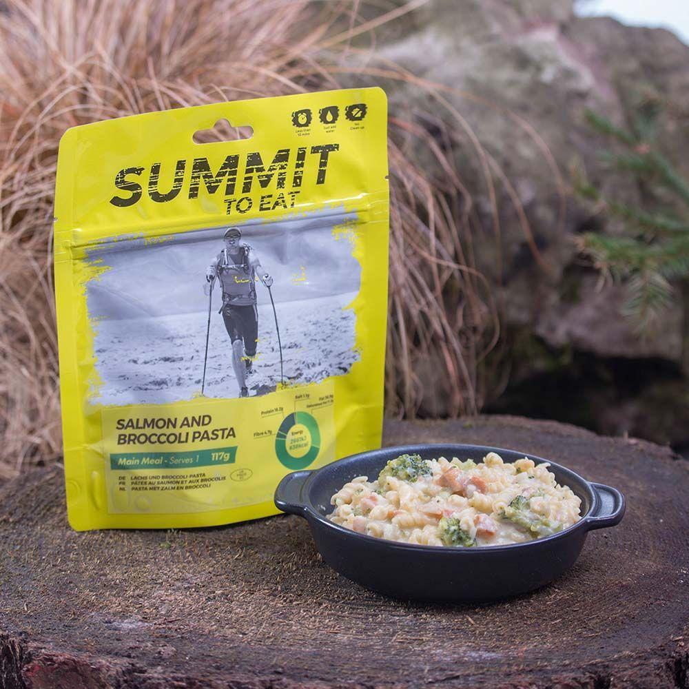 Summit To Eat Losos s těstovinami a brokolicí | 117 g