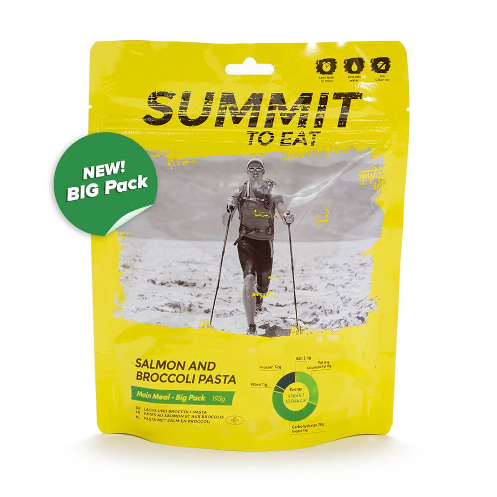 Summit To Eat Losos s těstovinami a brokolicí | 193 g