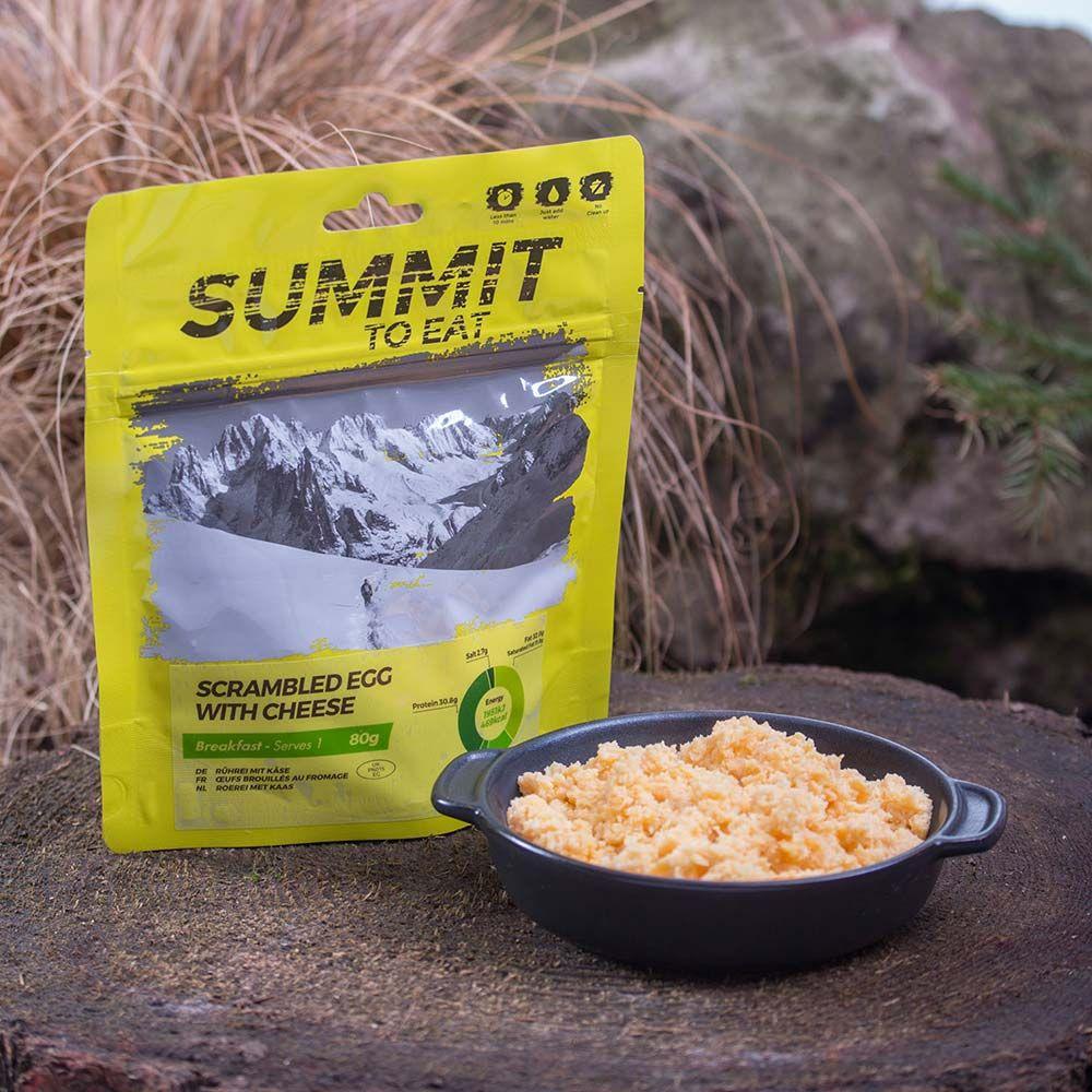 Summit To Eat Míchaná vajíčka se sýrem
