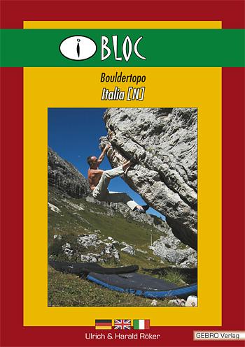 Itálie - iBLOC - boulder topo Italia (N)