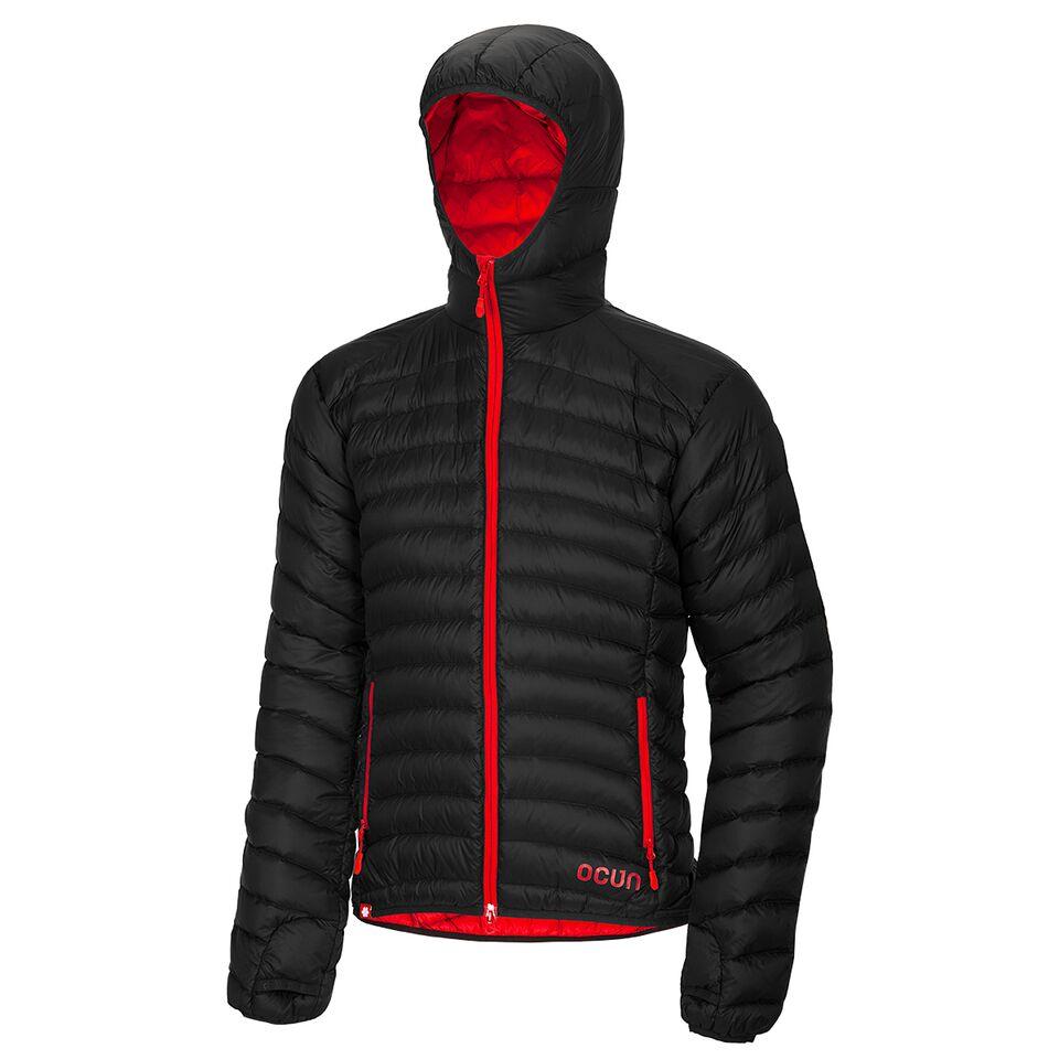 Ocun Tsunami Down Jacket Men black red | M